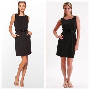 Lilly Pulitzer Sheath Dress Sz S Black